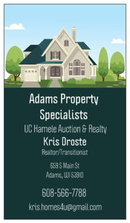 Kris Droste - Realtor - United Country Hamele Auction and Realty