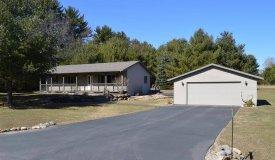 Ranch Home w/Acreage Oxford, Marquette County WI