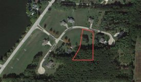 Lot with Park Lake Views Wooded in the Back in Pardeeville WI