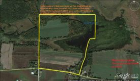 141+/- Acre Land & Home Auction on Dates Mill Pond, Columbia County, WI