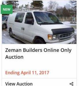 Zeman Online Auction
