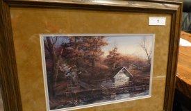 11 Framed Terry Redlin and Owen Gromme Prints