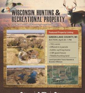 April Deer Show Flyer