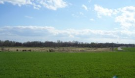Hunting Property in Portage WI with Build Site Close to Town