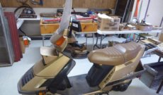 Honda Scooter, Vintage and Garage Items Online Only