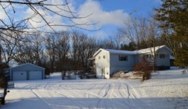 Online Only Auction Quiet 3BR, 1BA home in Montello Wisconsin