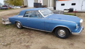 1963 Studebaker Gran Turismo Hawk Online Only Auction