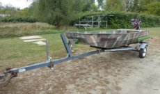 The Traveler Flat Bottom Boat Online Only Auction