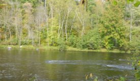 Buildable Chippewa River front lot Sawyer County, WI