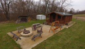 Extraordinary Hunting Camp in Southwestern Wisconsin