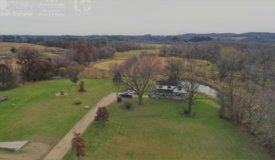 Remodeled Country Home with 134 +/- QDM Hunting Land in Sauk County Wisconsin