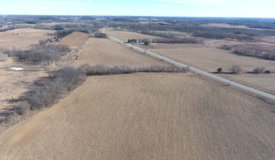 Farm Land Tillable and Small Wooded Patch in Columbia County WI