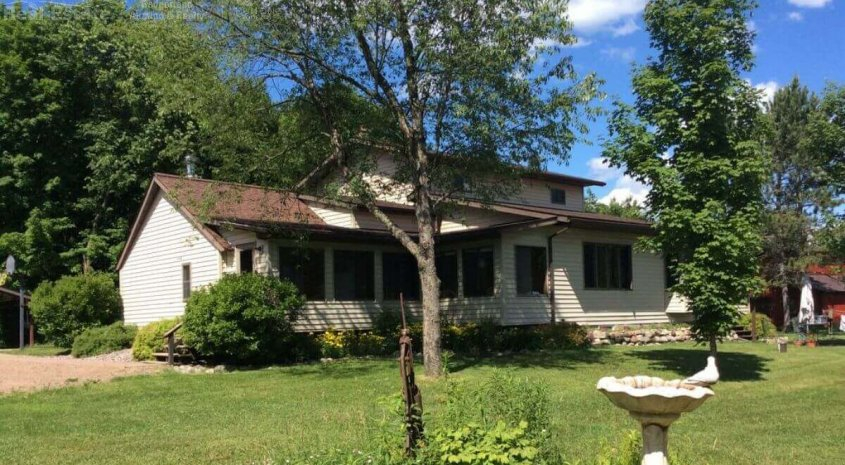 Country Living with acreage options in Price County WI