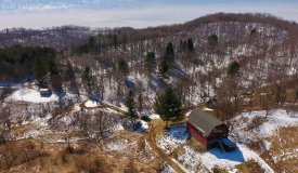 Barn Style Home with Hunting Land in Southwestern Wisconsin