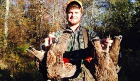 Quality grouse and whitetail property in Langlade County WI