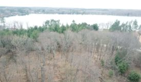 Beautiful wooded building site with view of Jordan Lake, Adams County  Wisconsin Dells, WI