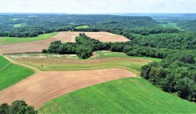 Rare Large Tract of Hunting and Farm Land in Iowa County
