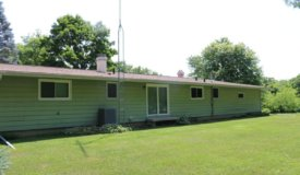 Ranch Home with a Wildlife Sanctuary in Dodge County WI
