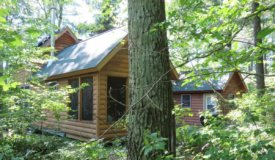 Off the Grid Waterfront Cabin in Washburn County WI