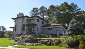 Custom Built Contemporary Home in Portage WI