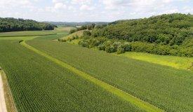 Fertible Tillable Land on Dead End in Monroe County WI