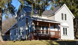 Country Home w/ Hunting and Fishing For Sale Richland County WI