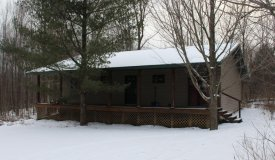 Cabin with Acreage Great for Hunting in Clark County WI