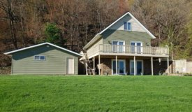 Custom Built Home with Hunting Juneau County WI