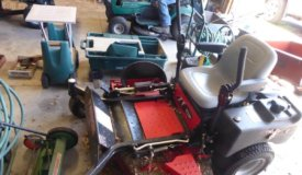 The Mowers, Garage Items and Household Online Only Auction