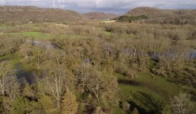 Hunting Land with Kickapoo River Frontage Southwestern Wisconsin