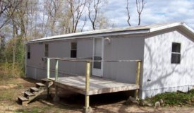 Marquette County Mobile Home in The Woods for Sale