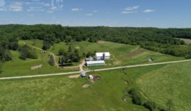 Fabled Farmstead with Prime Hunting in Hillsboro, WI