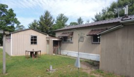 Friendship, WI Mobile Home with storage on .57 Acre