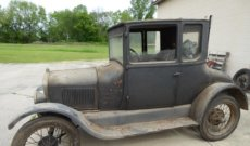 The Model T, Old Studebakers & Many Vintage Collectibles Online Only