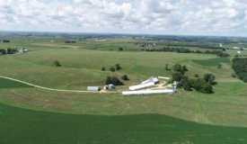 Income Producing Highly Sought after Farm in Lancaster, WI