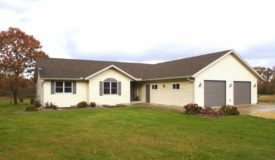 Gorgeous Ranch Home on 20 Acres of Prime Hunting Columbia County WI
