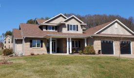 Immaculate Custom Two Story Home in La Crosse County WI