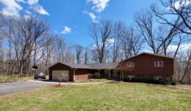 Spacious Home on wooded Acreage in Marathon County