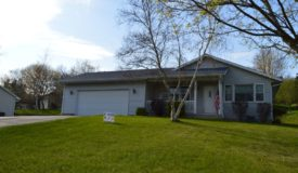 Home in North Side Portage WI Subdivision Columbia County