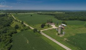 Country Home with Hunting & Tillable Land for Sale in Boscobel, WI