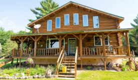 Marquette County Multi Parcel LIVE Auction on Log Home and Acreage