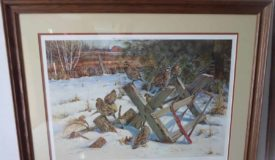 Gromme & other prints, Furniture, sports, misc. Online Only Auction