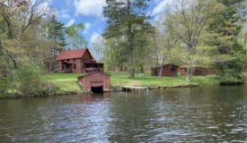 Classic Northwoods Wisconsin Historic Retreat Langlade County WI