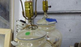 The Glassware, Wood Items & Antiques Online Only Auction