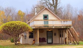 Cozy country home is located just outside town Mondovi in Pepin County WI