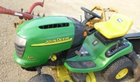 John Deere Tractor, Outdoors & Tools Online Only Auction