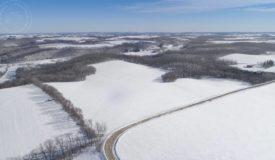 Premium Row Crop Land For Sale in Southwest Wisconsin