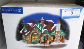 #10 Dennis Worthy Estate: Snow Village, Hallmark & Sporting Online Only Auction
