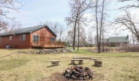 Briggsville WI Lakeview Cabin Style Home with Mason Lake Access
