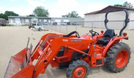 The Kabota Tractor, NH Skid Steer & More Online Only Auction